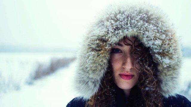 Snowy Woman